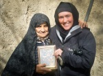 Bex and Ali's grandmother in Zanjan