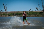 Water skiing on Murray River