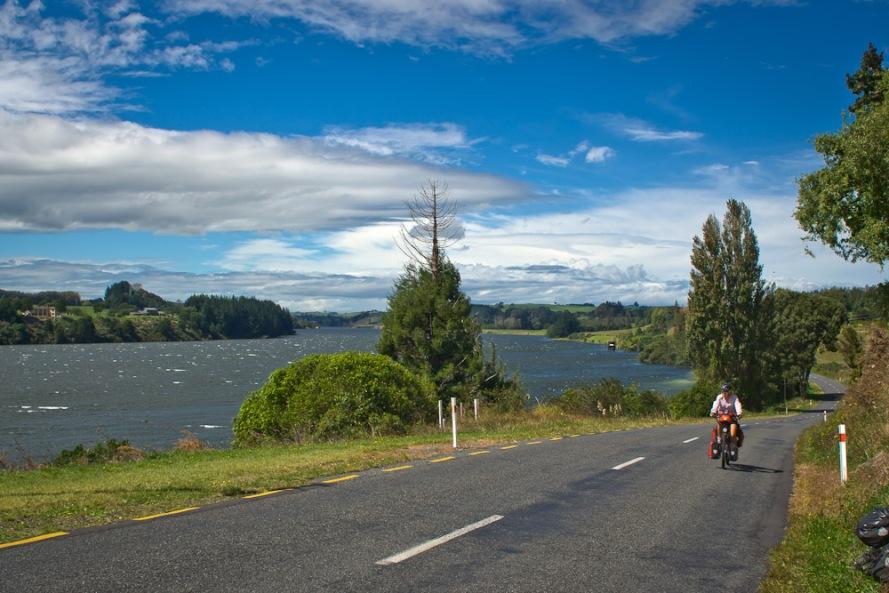 Karapiro New Zealand  city photos gallery : Lake Karapiro, Waikato, New Zealand | World Cycling Tour